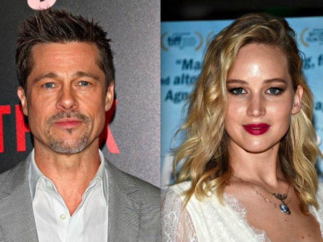 Brad pitt dating e news