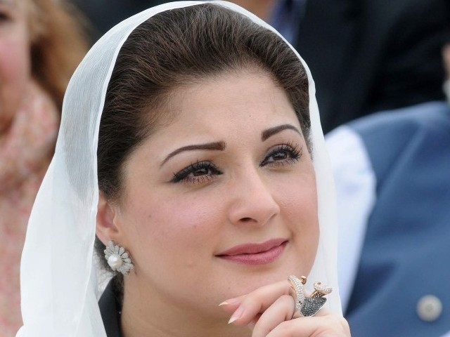 Maryam Nawaz. PHOTO: WASEEM NIAZ/EXPRESS