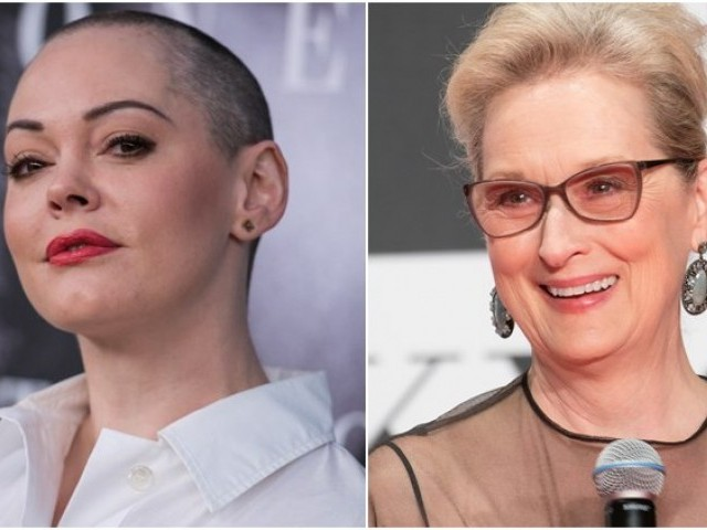 Rose McGowan slams Meryl Streep over planned 'silent protest' at Golden Globes