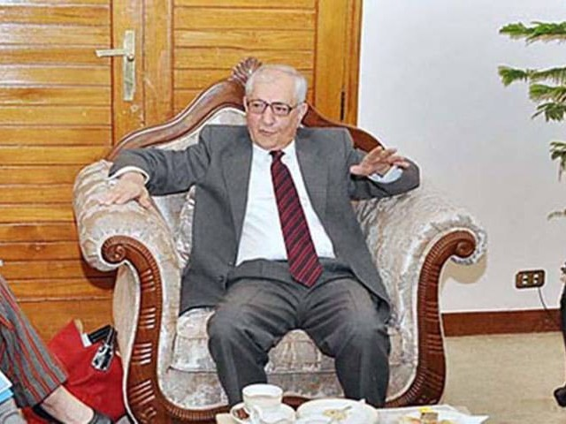 Governor Balochistan Muhammad Khan Achakzai. PHOTO: APP