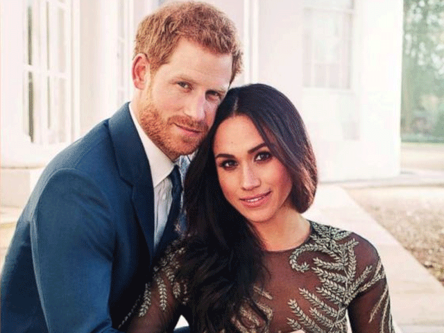 Meghan Markles Engagement Dress Stirs Controversy The Express Tribune