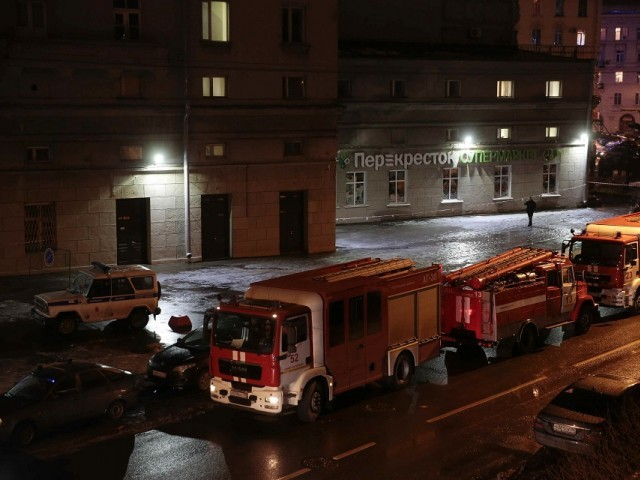 Bomb rips through St Petersburg supermarket with shrapnel injuring 10 Christmas shoppers