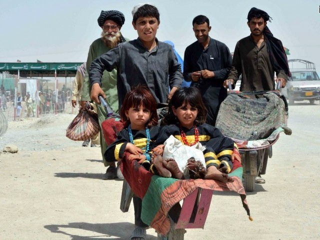Afghan refugees, PHOTO: FILE