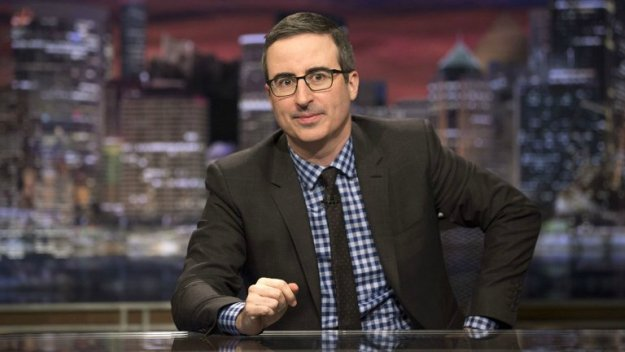 John Oliver Pressures Dustin Hoffman About Alleged Sexual Harassment Claims