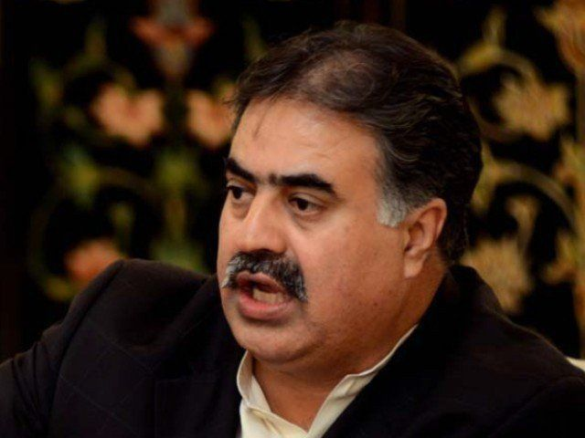 No-confidence resolution submited against Chief Minister Nawab Sanaullah Zehri