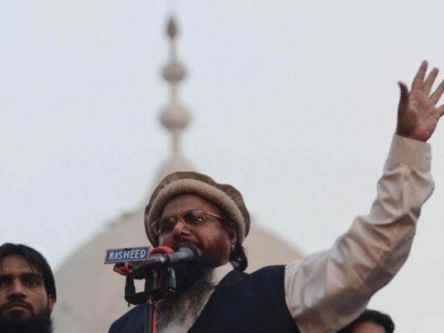 JuD chief Hafiz Saeed. PHOTO: AFP/FILE