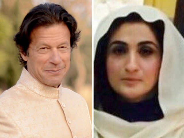 Imran Khan and Bushra Maneka. PHOTO: FILE
