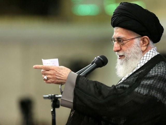Iranian leader vows to take revenge on U.S. over recent unrest