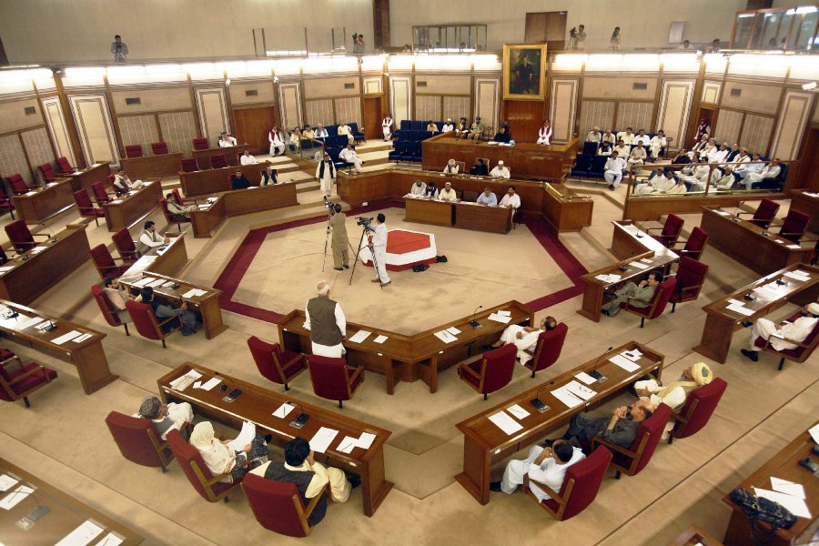 The Balochistan Assembly. PHOTO: EXPRESS