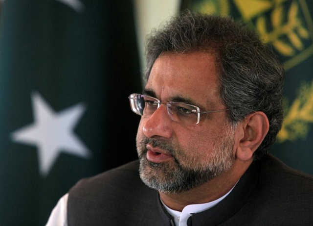pakistans-prime-minister-abbasi-speaks-with-a-reuters-correspondent-during-an-interview-at-his-office-in-islamabad