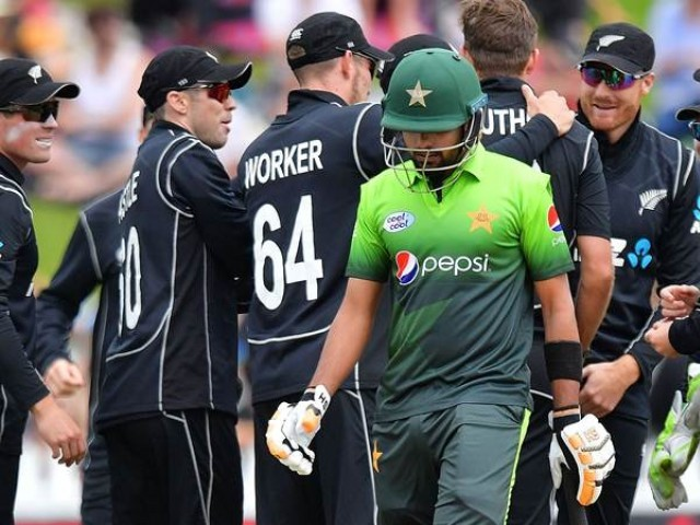 Pakistan have struggled with both bat and ball against New Zealand, who have utterly dominated the visitors so far. PHOTO: AFP