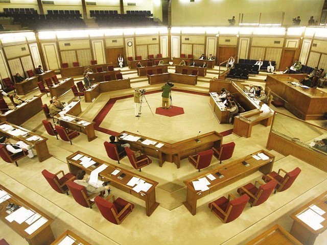The seat fell vacant after Sanaullah Zehri resigned from his post ahead of a no-confidence motion against him. PHOTO: FILE