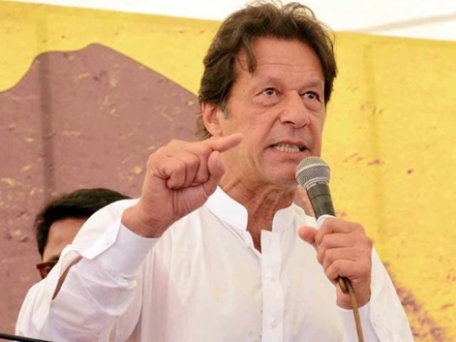 Imran Khan urged ppl to stand up against Sharif brothers
