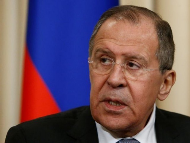 Russian Foreign Minister Sergei Lavrov ,PHOTO:REUTERS