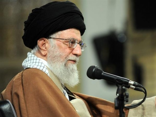 Supreme Leader of Iran Ayatollah Ali Khamenei. PHOTO: AFP