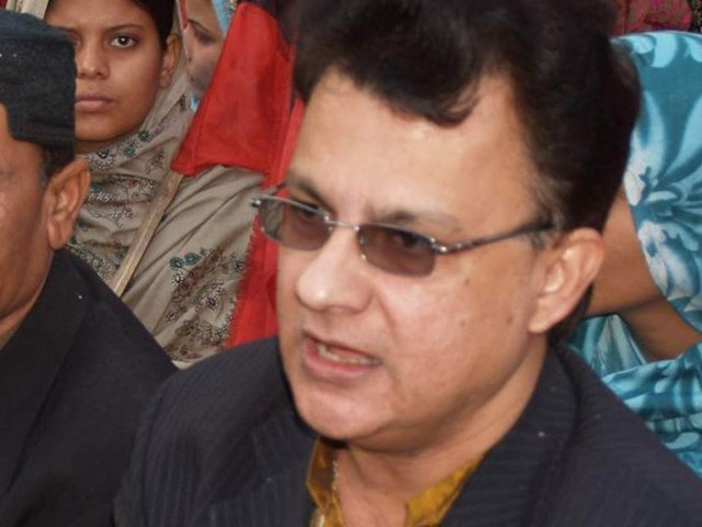 Ayaz Latif Palijo. PHOTO: EXPRESS/ FILE