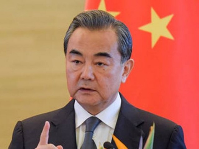 Chinese Foreign Minister Wang Yi,PHOTO: REUTERS