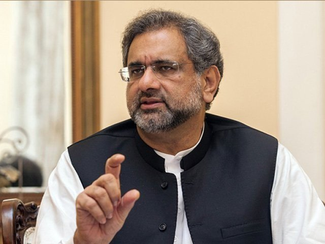 Abbasi challenges those cursing Parliament to dissolve assemblies