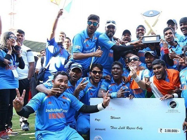 Politicos congratulate Team India on winning Blind Cricket World Cup
