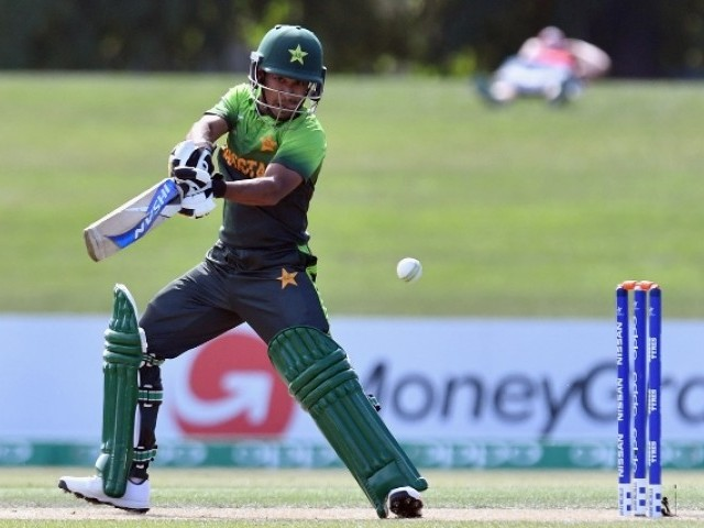 Ali Zaryab leads Pakistan into U-19 WC semis
