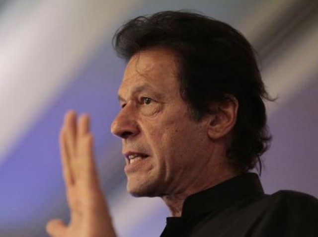 PTI chief Imran Khan. PHOTO: REUTERS/FILE