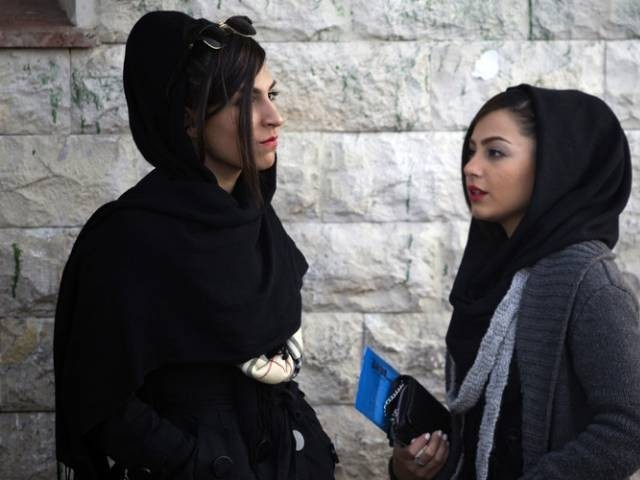 Iranian Women Go to Jail for Removing Their Hijabs in #Girlsofrevolutionstreet Protest