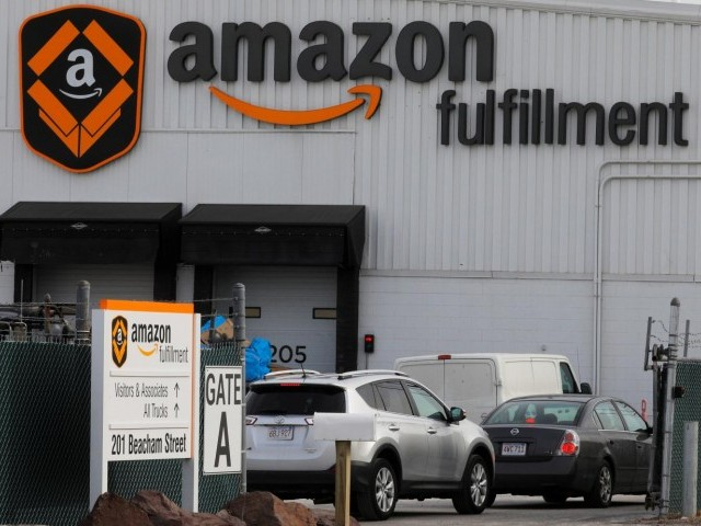 Amazon Profit Largest in History on Sales and Tax Reform