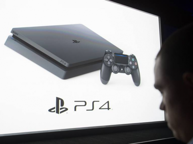 Sony's PS4 console has nearly outsold its predecessor PHOTO: AFP