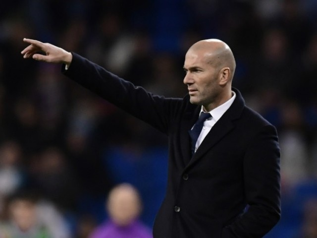 Zidane. It's time for Real Madrid to act