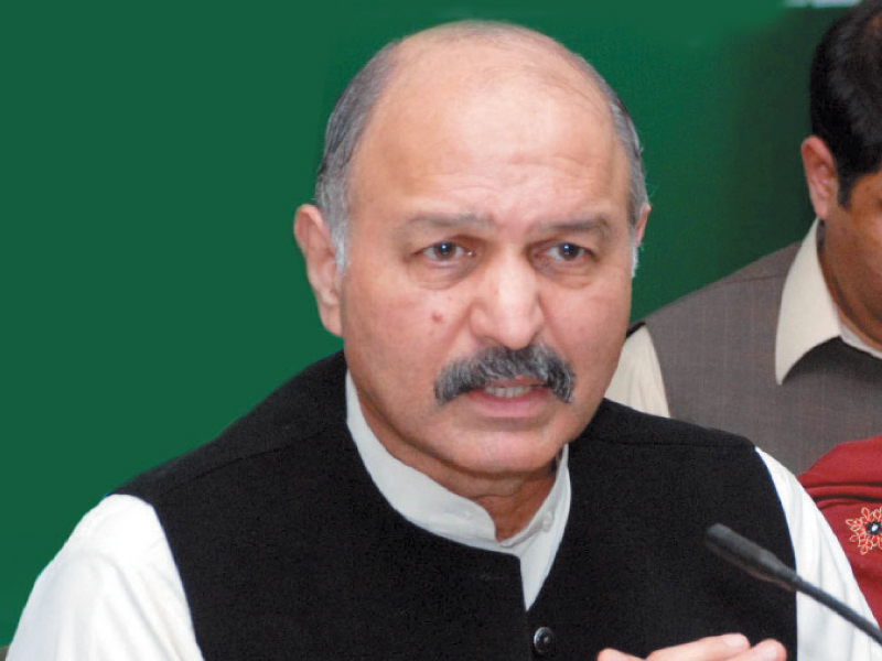 Mushahid Hussain Syed. PHOTO: FILE