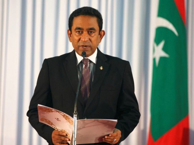 Maldives President Abdulla Yameen. PHOTO: REUTERS/FILE