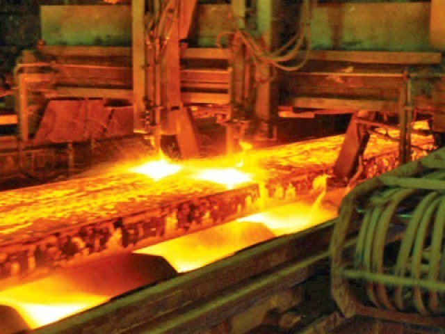 The steel industry generates the largest amount in revenues within the growing industrial sector of Pakistan. PHOTO: FILE