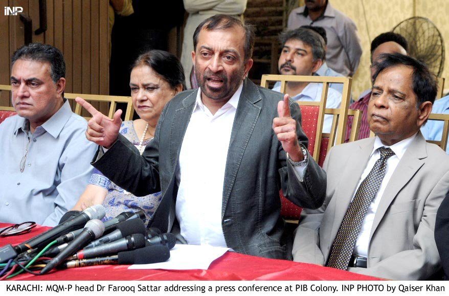 Farooq Sattar nominates Kamran Tessori for Senate election