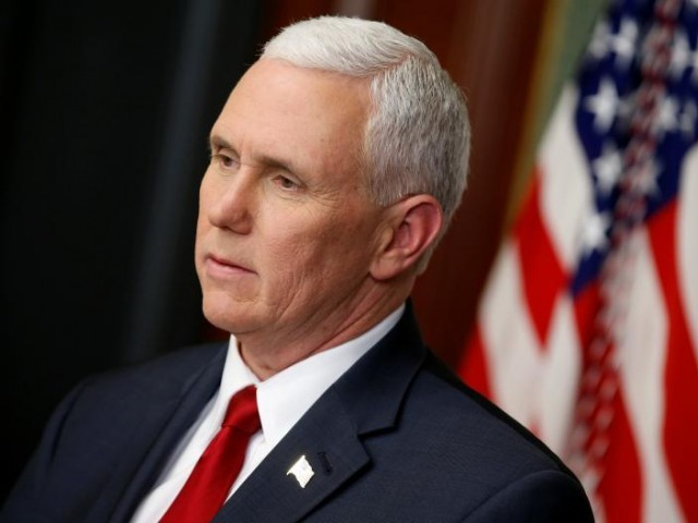 Pence Pledges Vigilance, Resolve Against North Korea Threats