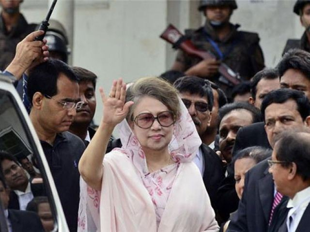 Bangladesh ex-PM Khaleda Zia PHOTO: AFP