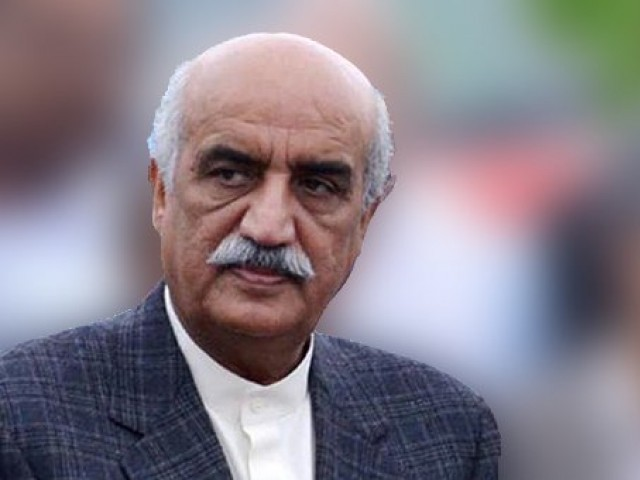 Leader of Opposition in the National Assembly Syed Khursheed Ahmed Shah. PHOTO: INP
