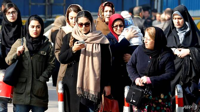 powerful parts of iran 039 s establishment still see the headscarf as a crucial symbol of their revolutionary identity photo afp