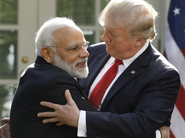 Trump, Modi discuss Afghan security, Rohingya crisis, North Korea