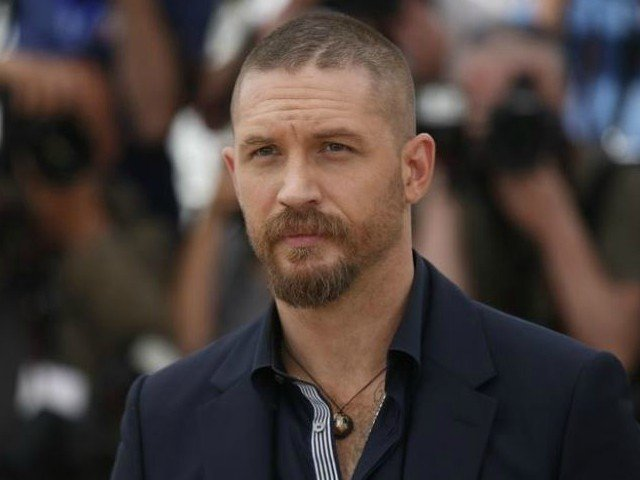 Tom Hardy poses at the 68th Cannes Film Festival in Cannes. PHOTO: REUTERS/Benoit Tessier