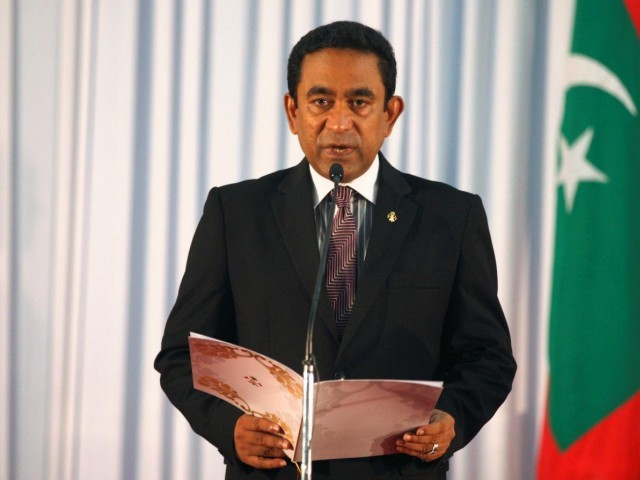 China dismisses accusations from former Maldives leader