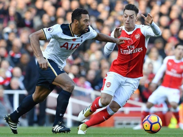 Pierre-Emerick Aubameyang's record against Tottenham bodes well for Arsenal