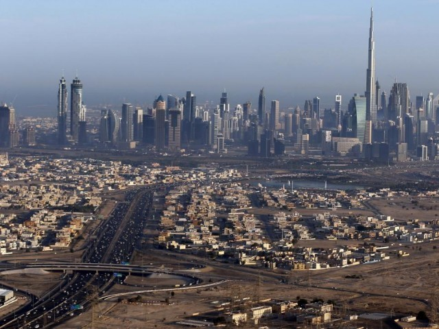 Burj Khalifa, the world's tallest tower, is seen in a general view of Dubai.