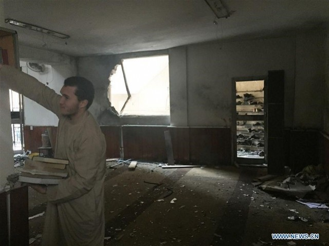 Explosion hits mosque in Libyan city of Benghazi