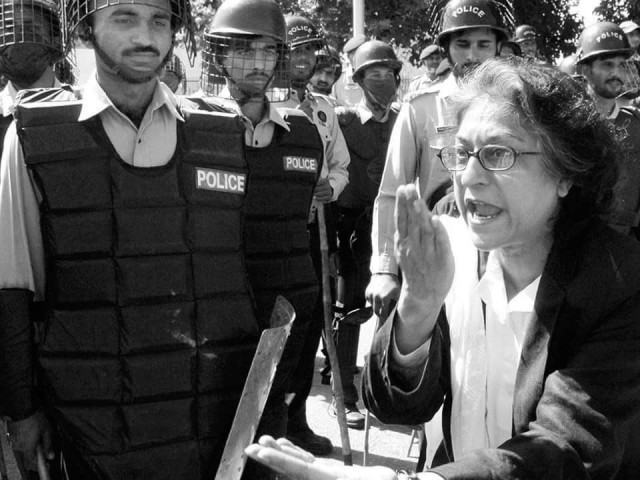 Asma Jahangir. PHOTO: TWITTER