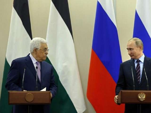 Abbas meets Putin in Moscow to discuss USA  mediation role