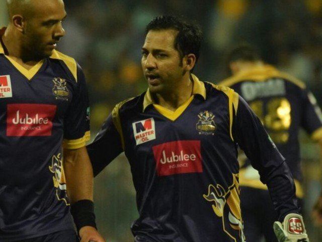 One step further: Quetta have been the losing finalists in both PSL editions and Sarfraz will be looking to guide his side to glory in his own city. PHOTO COURTESY: PSL