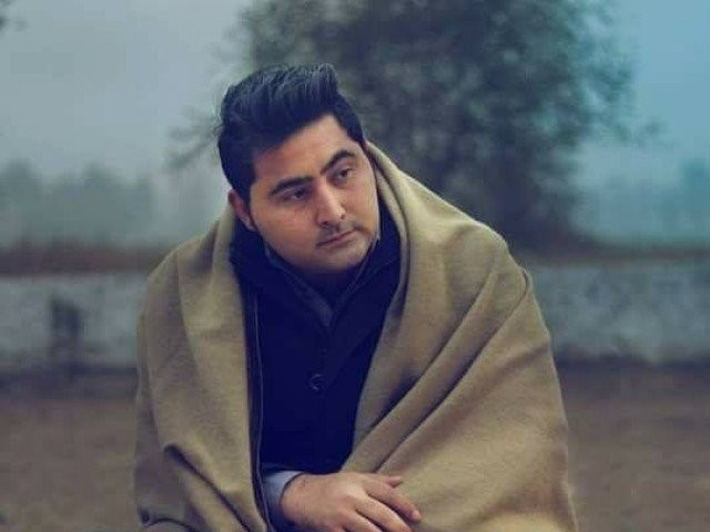 The 23-year-old student of journalism at AWKU was shot dead and brutally lynched on campus last year. PHOTO: Mashal Khan/FACEBOOK