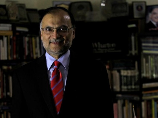 Federal Minister for Interior Ahsan Iqbal. PHOTO: REUTERS