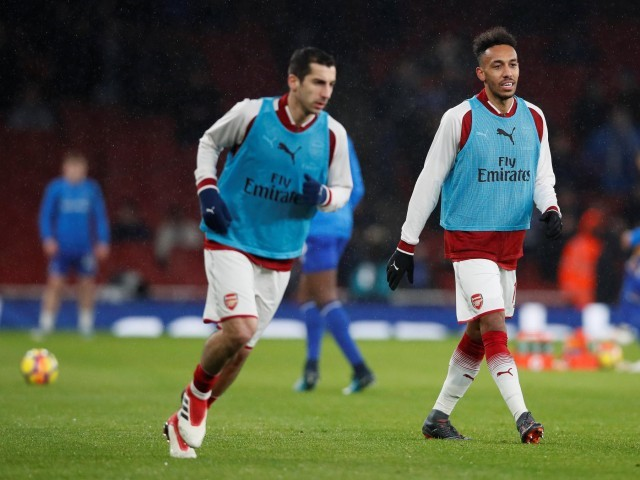 I love playing with Aubameyang — Henrikh Mkhitaryan