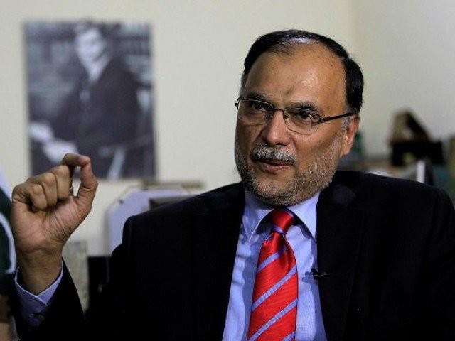 Ahsan Iqbal. PHOTO: REUTERS